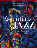 Essential Jazz (with CourseMate Printed Access Card and 2-CD Set), Martin, Henry and Waters, Keith, 1285749154