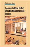 Japanese Political History Snice the Meiji Renovation, 1868-2000, Sims, R. L. and Sims, Richard, 0312239157