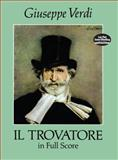Il Trovatore in Full Score, Giuseppe Verdi, 0486279154