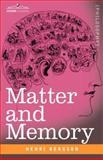 Matter and Memory, Bergson, Henri, 1602069158