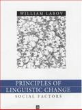 Principles of Linguistic Change : Social Factors, Labov, William, 0631179151