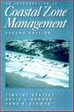 An Introduction to Coastal Zone Management, Beatley, Timothy and Brower, David J., 1559639156