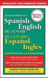 Merriam-Webster's Spanish-English Dictionary, Merriam-Webster, Inc. Staff, 0877799164