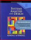 Systems Analysis and Design, Kendall, Kenneth E. and Kendall, Julie E., 013608916X
