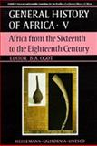 Africa from the Sixteenth to the Eighteenth Century 9780520039162