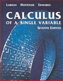 Calculus of a Single Variable, Edwards, Bruce H. and Hostetler, Robert P., 0618149163