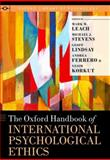 The Oxford Handbook of International Psychological Ethics, , 0199739161
