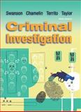 Criminal Investigation, Chamelin, Neil C. and Territo, Leonard, 007297916X