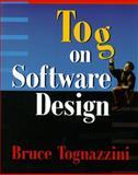 Tog on Software Design, Tognazzini, Bruce, 0201489171