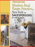 Modern Real Estate Practice in New York for Salespersons, Sam Irlander and Edith Lank, 1427769176