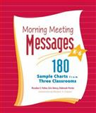 Morning Meeting Messages, K-6 9781892989178