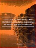 Effects of Degraded Agent and Munitions Anomalies on Chemical Stockpile Disposal Operations, , 0309089182