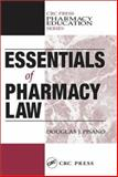 Essentials of Pharmacy Law, Pisano, Douglas J., 1566769183