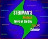 Stedman's Medical Word of the Day 2005 Calendar, Stedman, 0781749182