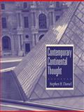 Contemporary Continental Thought, Daniel, Stephen H., 013182919X