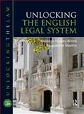 Unlocking the English Legal System, Huxley-Binns, Rebecca and Martin, Jacqueline, 1444109197