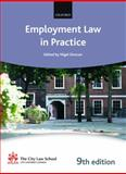 Employment Law in Practice, Foster, Steve and City Law School Staff, 0199579199
