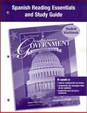 United States Government: Democracy in Action, Spanish Reading Essentials and Study Guide : Student Workbook, McGraw-Hill Staff, 0078659205