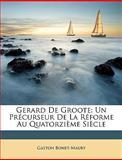 Gerard de Groote, Gaston Bonet-Maury, 1147309205
