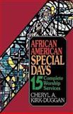 African American Special Days, Cheryl A. Kirk-Duggan, 0687009200