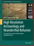 High Resolution Archaeology and Neanderthal Behavior : Time and Space in Level J of Abric Romaní (Capellades, Spain), , 9400739214