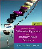 Fundamentals of Differential Equations with Boundary Value Problems with IDE CD (Saleable Package), Nagle, R. Kent and Saff, Edward B., 0321419219