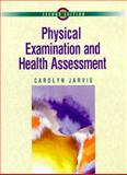 Physical Examination and Health Assessment, Jarvis, Carolyn, 0721659225