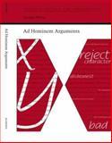 Ad Hominem Arguments, Walton, Douglas, 0817309225