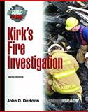 Kirk's Fire Investigation, DeHaan, John D., 013171922X