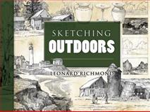 Sketching Outdoors, Leonard Richmond, 0486469220