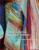 Statistics for the Behavioral Sciences, Nolan, Susan and Heinzen, Thomas, 1464109222