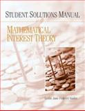 Student Solution Manual for Mathematical Interest Theory, Vaaler, Leslie Jane Federer, 0132389223