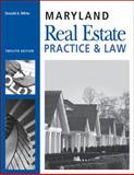 Maryland Real Estate Practice and Law, Don White, 1427779228