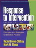 Response to Intervention : Principles and Strategies for Effective Practice, Brown-Chidsey, Rachel and Steege, Mark W., 1606239236
