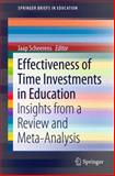 Effectiveness of Time Investments in Education : Insights from a Review and Meta-Analysis, , 3319009230