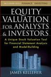 Equity Valuation for Analysts and Investors, Kelleher, James, 0071639233