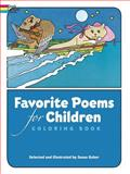 Favorite Poems for Children Coloring Book, Coloring Books, 0486239233