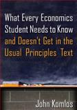 What Every Economics Student Needs to Know and Doesn't Get in the Usual Principles Text, Komlos, John, 0765639238