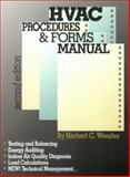 HVAC Procedures and Forms Manual, Wendes, Herbert C., 0824709233