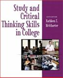 Study and Critical Thinking Skills in College, McWhorter, Kathleen T., 0321089235