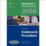 Blackstones Police Manuals 2008, Connor, Paul and Cooper, Simon, 0199229236