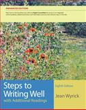 Steps to Writing Well with Additional Readings, Wyrick, Jean, 1133309232