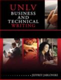 Unlv Business and Technical Writing, Jablonski, Jeffrey, 0757549241