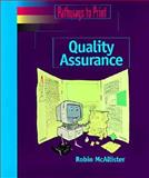 Pathways to Print : Quality Assurance, McAllister, 0827379242