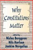Why Constitutions Matter, , 0765809249