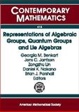 Representations of Algebraic Groups, Quantum Groups and Lie Algebras, , 0821839241
