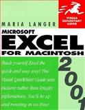 Excel 2001 for Macintosh, Langer, Maria, 0201729253