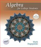 Algebra for College Students, Dugopolski, Mark, 0073309257