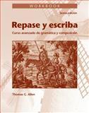 Repase y Escriba : Curso Avanzado de Gramatica y Composición, Dominicis, Maria Canteli and Reynolds, John J., 0470909250
