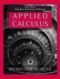 Applied Calculus, Student Solutions Manual, Hughes-Hallett, Deborah and Lock, Patti Frazer, 0471739251